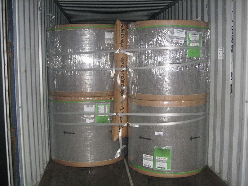 Túi khí chèn hàng hóa đóng cuộn
